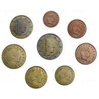 Luxemburg 3,88 Euro 2015 bfr. lose 1 Cent - 2 Euro