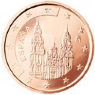 Spanien 2 Cent 2001 bfr. Kathedrale von Santiago de Compostela
