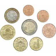 3,88 Euro Kursmuenzensatz Österreich 2017 lose
