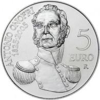 5 Euro Silbermünze 2005  180. Todestag von Antonio Onofri aus San Marino