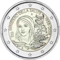 2 Euro Gesundheitsministerium aus Itanlien von 218