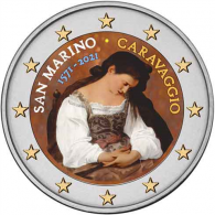san-marino-2-euro-2021-caravaggio-in-farbe
