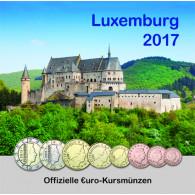 Luxemburg Euro Kursmuenzen 2017