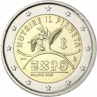 Italien 2 Euro 2015 bfr. Zur EXPO 2015 in Mailand