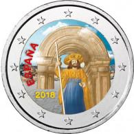 Euro Gedenkmuenzen 2018 Santiago de Compostela
