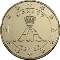Monaco 20 Cent 2014 stgl.