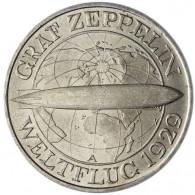 J.342 -  Weimar 3 Reichsmark 1930 Zeppelin