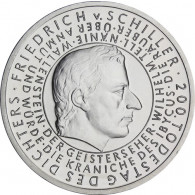 Silbermünze 10 Euro 2005 Friedrich Schiller kaufen