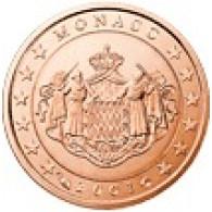 Monaco 1 Cent 2005 Polierte Platte
