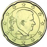 Euromuenze Belgien  20 Cent 2016 Philippe
