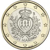 San Marino 1 Euro 2009 bfr. Staatswappen