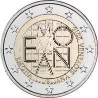 Emona 2 Euro Münze Slowenien 2015
