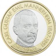Finnland 5 Euro Muenze 2017 Präsidenten-Serie - Mannerheim