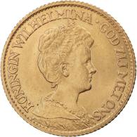 Niederlande-10-Gulden-1911--1917-Königin-Wilhelmina-mit-Diadem-I