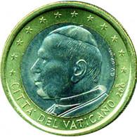 Vatikan 1 Euro Papst Johannes Paul