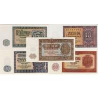 Geldscheine, Banknoten und Sondermünzen von Historia Hamburg DDR  1955