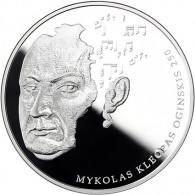 Mykolas Keopas Oginskis 2015 20 Euro Muenzen