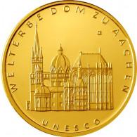 Deutschland 100 Euro 2012 stgl. UNESCO Welterbe Aachen Mzz. F