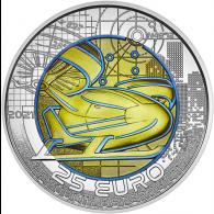 Österreich-25-Euro-2021-Mobilität-der-Zukunft-Niob-I