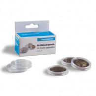 2 Euro, Kapseln, 10 Münzenkapseln für 2 €-Münzen - Innen 26 mm - 309 404