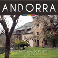 Andorra Euro KMS 2019 im Folder bestellen