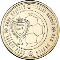 Belgien 2,5 Euro Gedenkmünze 2018 The Red Devils  -Rote Teufel -  Belgien Sondermünzen Weltmeisterschaft Russland