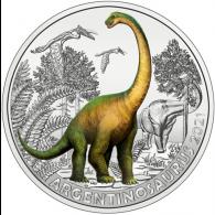 Österreich-3-Euro-2021-Argentinosaurus-I