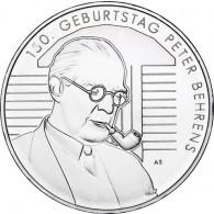 20-Euro-Gedenkmünze 150. Geb. Peter Behrens Silbermünze aus Deutschland