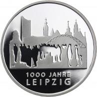 Deutschland 10 Euro Silber 2015 PP 1000 Jahre Leipzig