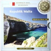 Malta 3,88 Euro 2015 bfr. KMS -  Sondersatz im Folder