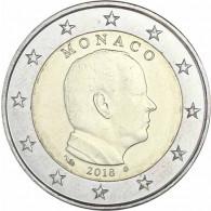 Monaco 2 Euro Kursmünzen 2018 Fürst Albert II