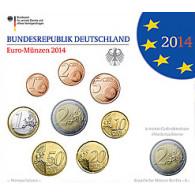 Deutschland 5,88 Euro-Kurssatz 2014 Stgl. Mzz: F