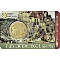 2 Euro Sondermünze 450. Todestag Pieter Bruegel der Ältere in offizeller Coincard