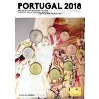 Portugal 2018 Kursmünzen 1 Cent bis 2 Euro Blister FDC - Zubehör - Münzkatalog bestellen
