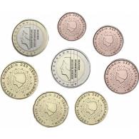 Niederlande Euro-Kursmünzen 3,88 Euro 1999 bankfrisch Erstausgabe