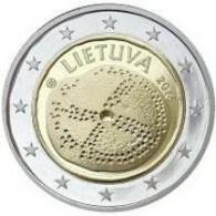 baltische Kultur 2 Euro Gedenkmünzen aus Litauen 2016