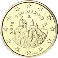 San Marino 50 Cent 2016 bfr. Festungstürme Monte Titano