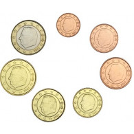 Belgien 1,88 Euro 2001 bfr. KMS 1 Cent - 1 Euro lose Muenzen