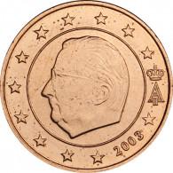 Belgien 1 Cent 2003 bfr. König Albert II
