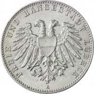 J. 80   Lübeck  2 Mark 1901  Stadtwappen SONDERPREIS