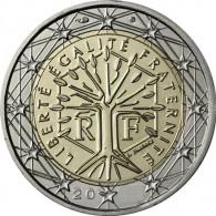 Frankreich 2 Euro 2004 bfr. Lebensbaum