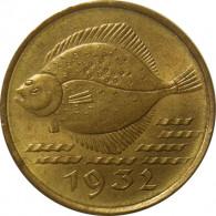 D 12 - Danzig 5 Pfennig 1932 Flunde
