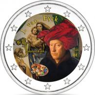 Belgien-2-Euro-2020-Jan-van-Eyck-FARBE-shop-I