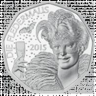 Österreich 5 Euro Silber 2015 Hgh Neujahrsmünze Fledermaus