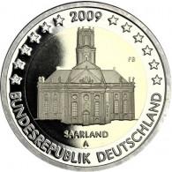 Deutschland 2 Euro-Gedenkmünze 2009 PP  Ludwigskirche Mzz. Historia Wahl