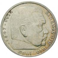 J.360 - 5 Reichsmark Hindenburg ohne HK 1935- 1936 Silber