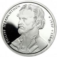 Deutschland 10 DM Silber 1997 PP Philipp Melanchthon Mzz. unserer Wahl