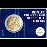 Frankreich-2-Euro-2021-bfr-Paris-2024-Olympische-Spiele-Nr-1-I