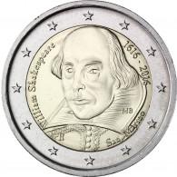 San Marino Shakespeare 2 Euro Gedenkmünze