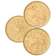 San Marino 5 Euro -Gedenkmünzen Zodiac Serie Sternzeichen bestellen